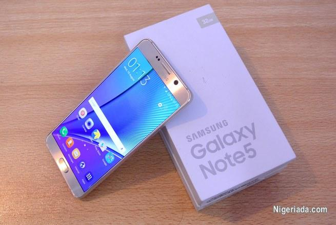 UK used Samsung Galaxy Note 5