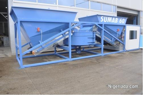 Mobile concrete plant SUMAB K-60 SWEDEN | Business / Industrial for