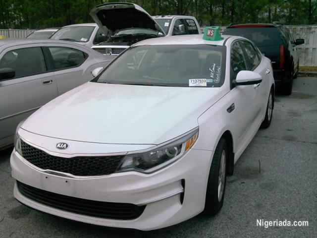 2016 Kia Optima For E Auction Call Compt Mrs Violet On 0903524